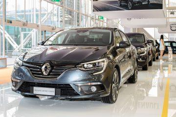 Renault Megane e il cambio automatico