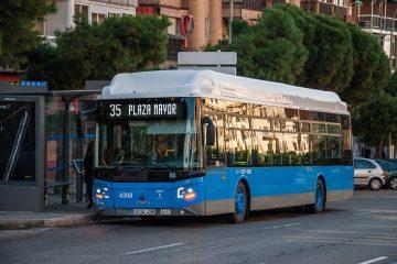 Mobilità sostenibile: 160 autobus Scania a gas per la città di Madrid