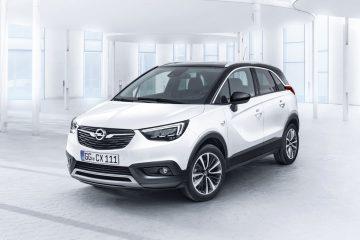 Opel fa un altro passo tra i SUV e lancia Crossland X