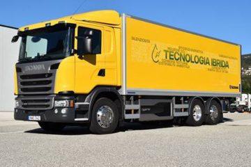 Forte crescita veicoli ibridi Scania