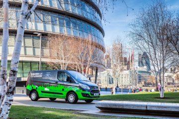 Ford Vara 5 Flotte Di Transit Hybrid Plug-In Per Migliorare Atmosfera A Londra