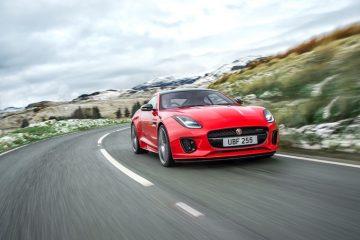 Jaguar Arricchisce La Gamma F-Type Con Il Nuovo Quattro Cilindri