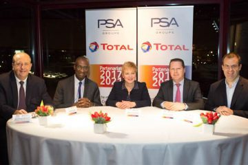 Groupe PSA e Total rinnovano la loro partnership storica