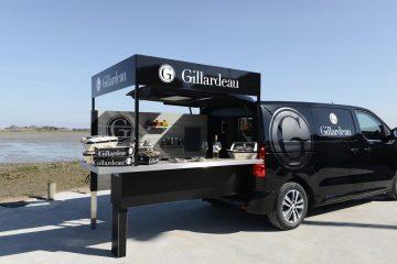 Foodtruck Peugeot Per L'ostricoltore Gillardeau