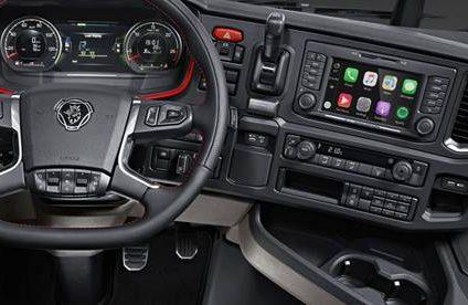 Scania porta Apple CarPlay a bordo della nuova generazione di veicoli