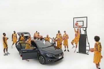Fiat Tipo supporta la squadra di basket Fiat Torino
