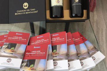 Mangiare e bere al meglio? Guida Michelin e Consorzio Brunello di Montalcino