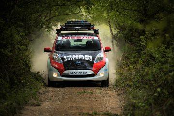 Nissan Leaf AT-EV: Il primo veicolo 100% elettrico al Mongol Rally con una sfida da 16000 km