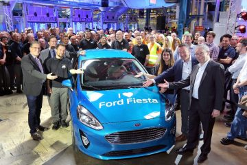 Partita Produzione Nuova Generazione Ford Fiesta