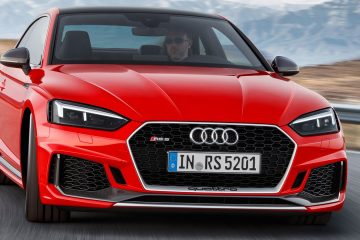 Audi RS5 Coupé seconda generazione pronta in concessionaria