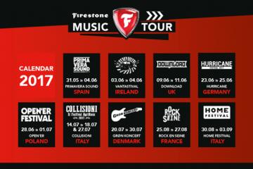 Firestone Music Tour in Italia al Collisioni e Home Festival