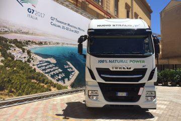 Trasporti: IVECO protagonista al G7allery con Stralis NP