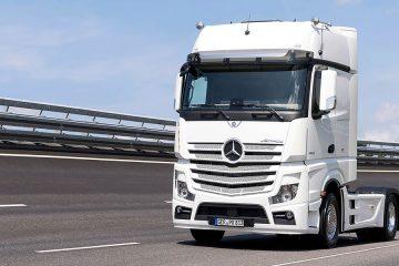 Truck Mercedes in Raduno a Seriate (BG)