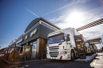 McDonald's riduce emissioni flotta con HAVI e Scania