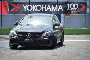 Yokohama Nuovo Partner Di Amg Driving Academy