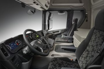 Sui veicoli Scania nuove cabine serie G con zona notte