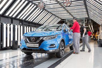 Partita produzione nuovo Nissan Qashqai