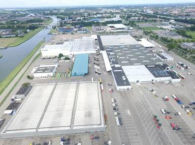 Paesi Bassi obiettivo Scania distesa pannelli solari