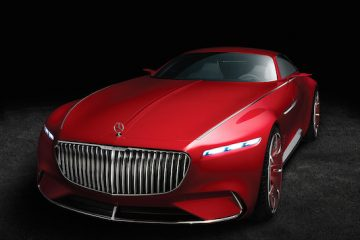 Vision Mercedes-Maybach 6 #cabriolet a due posti