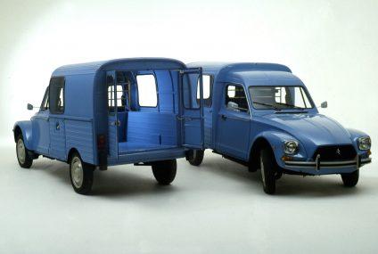"Acadiane: la versione ""furgonetta"" di Dyane"