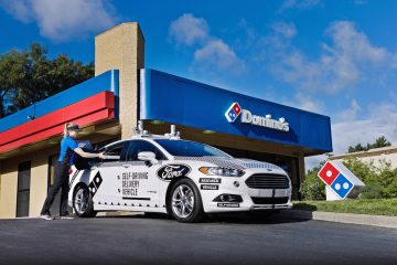 Ford e Domino's: guida autonoma e pizze
