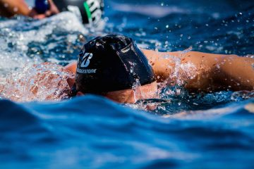 Gregorio Paltrinieri e Bridgestone. Nuotando verso l'Elba