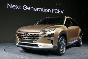 Fuel Cell nuovo SUV seconda generazione da Hyundai