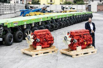 Motori industriali Scania alla Cometto