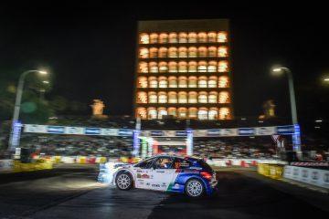Rally di Roma Capitale Peugeot sul podio in una prima tappa molto difficile