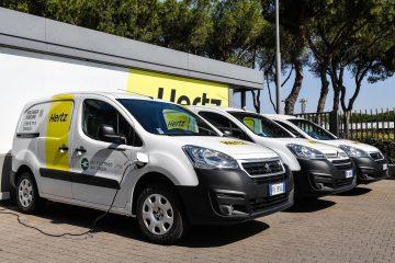 Furgoni Elettrici Peugeot e Citroën per Hertz