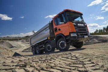 Nuova gamma XT Scania per i lavori difficili