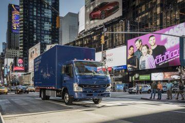 FUSO e-Canter: prime consegne truck elettrico in USA
