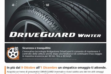 Da lunedì Bridgestone apre l'inverno in sicurezza