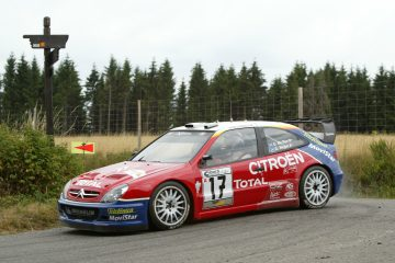 Citroen Xsara Wrc Al Rallylegend Con Kris Meeke