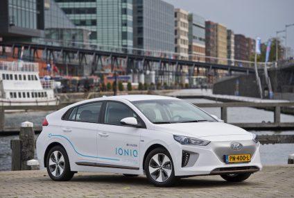 Ioniq Electric: ad Amsterdam car-sharing  Hyundai