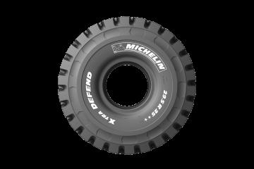Pneumatico Michelin per dumper articolati