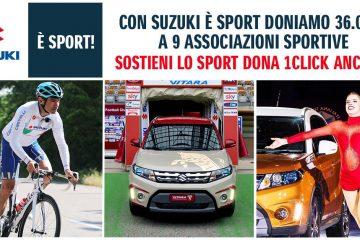 Modo nuovo e passione di sempre: Suzuki è con lo sport