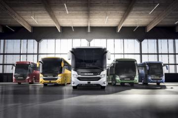 A Busworld il nuovo ibrido Scania Interlink LD