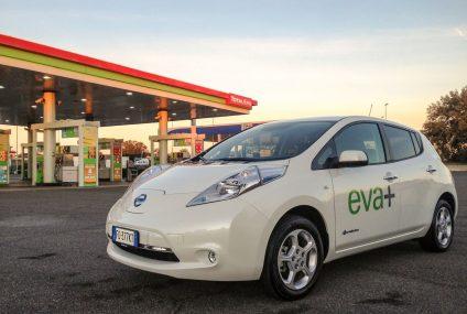 Nissan e il progetto EVA+