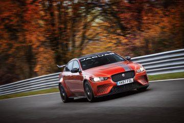 Giro Record Jaguar XE SV al Nürburgring