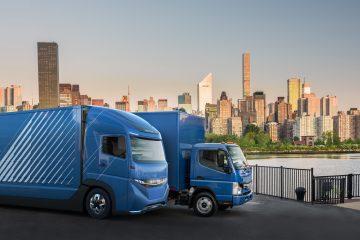 In anteprima E-FUSO Vision One, elettrico Daimler Trucks