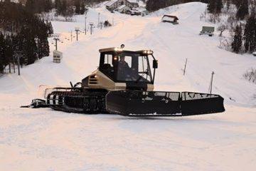 Gatti delle nevi in Giappone con motori Scania