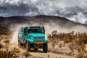 Team PETRONAS IVECO a Dakar e Africa Eco Race