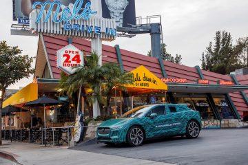 Viaggio tutto elettrico per Jaguar I-Pace a Los Angeles