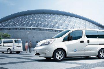 Veicoli elettrici centrali mobili by Nissan e TEPCO
