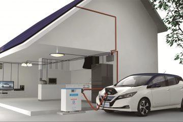 Pannelli solari gratuiti in Giappone con Nissan LEAF