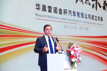 Joint-Venture Brilliant e Renault in Cina