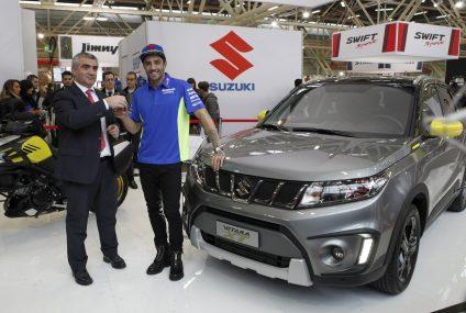Andrea Iannone sceglie Suzuki Vitara XT