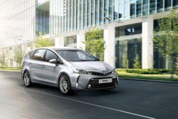 Toyota Prius+ presenta il Model Year 2018