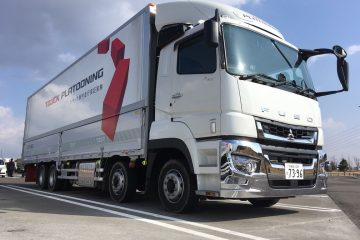 Anche in Giappone platooning su FUSO/DAIMLER